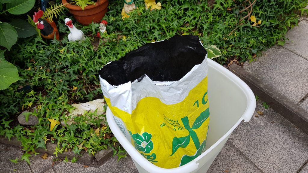Erdsack gleich Müllsack