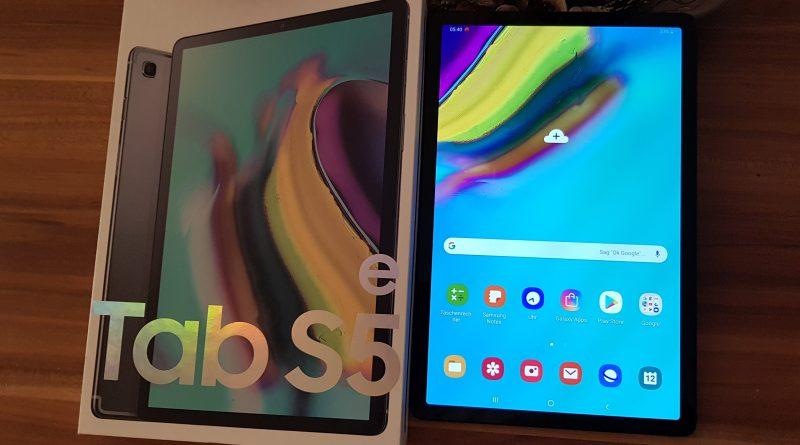 Hands ON Samsung Galaxy Tab S5e