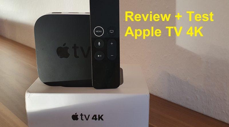 Review + Test Apple TV 4K - lohnt sich das???
