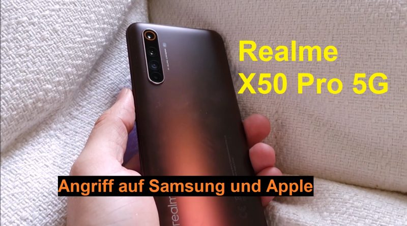 Review + Test Realme X50 Pro 5G