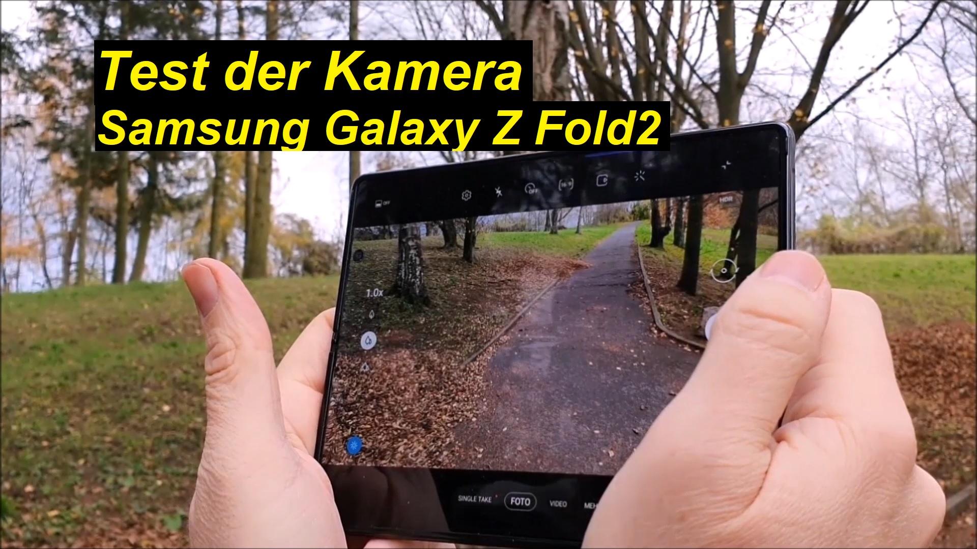 Test der Kamera vom Samsung Galaxy Z Fold2   SeppelPower