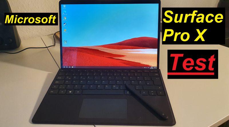das hybride Microsoft Surface Pro X im Test - SeppelPower