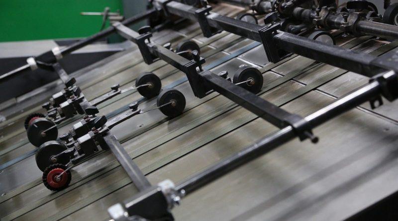 Offsetdruck Technik in modernen Zeiten