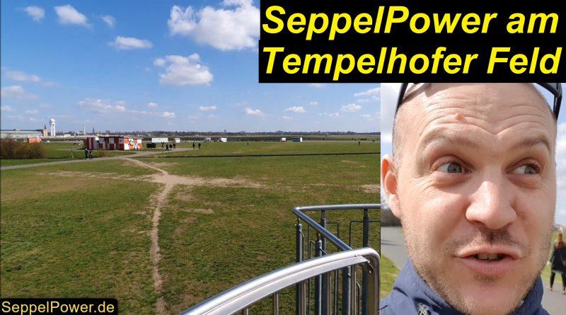 SeppelPower am Tempelhofer Feld - Ostersonntag (Berlin)