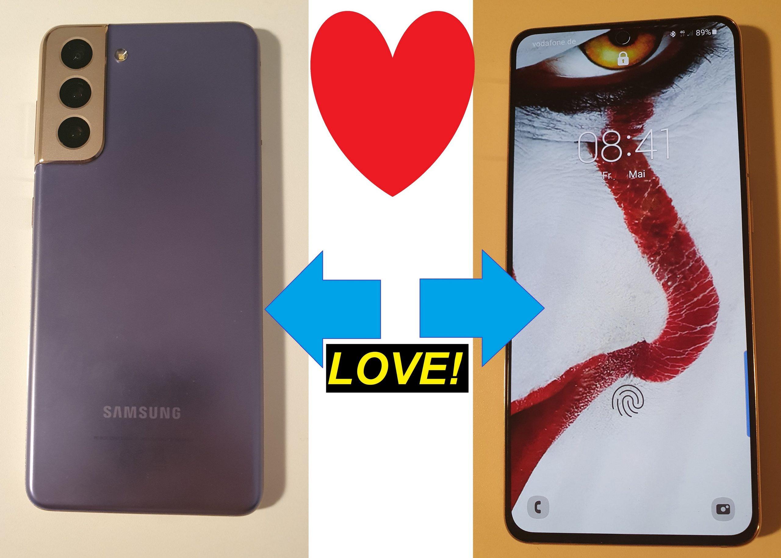 Ich bin verliebt! Samsung Galaxy S21 - Verbotene Liebe? Test!
