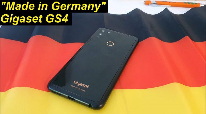 """""""Made in Germany"""" Reicht das? Gigaset GS4"""