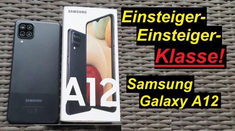 die Einsteiger-Einsteiger-Klasse. Gut genug? Samsung Galaxy A12