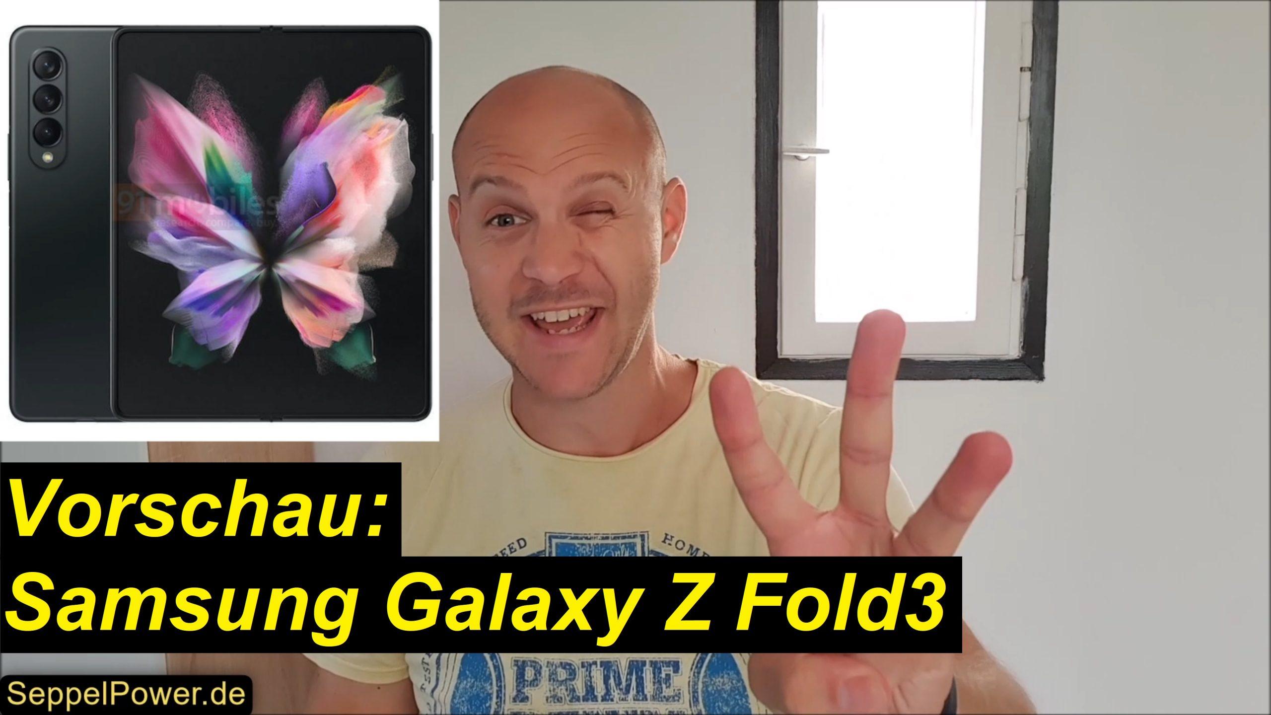 Vorschau zum Samsung Galaxy Z Fold3