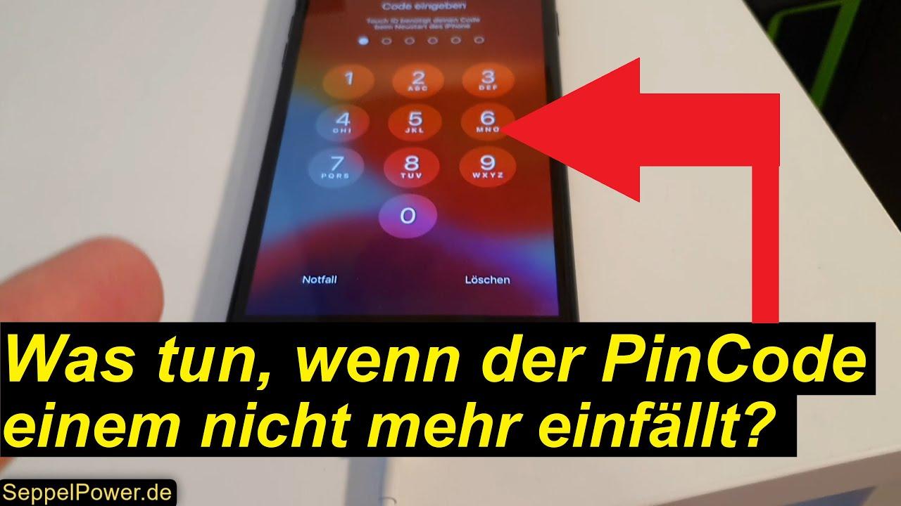 PinCode beim iPhone umgehen