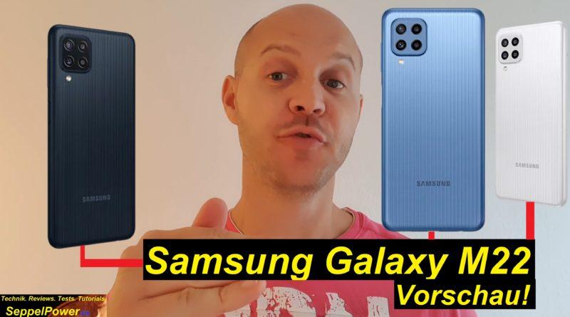 Vorschau zum Samsung Galaxy M22