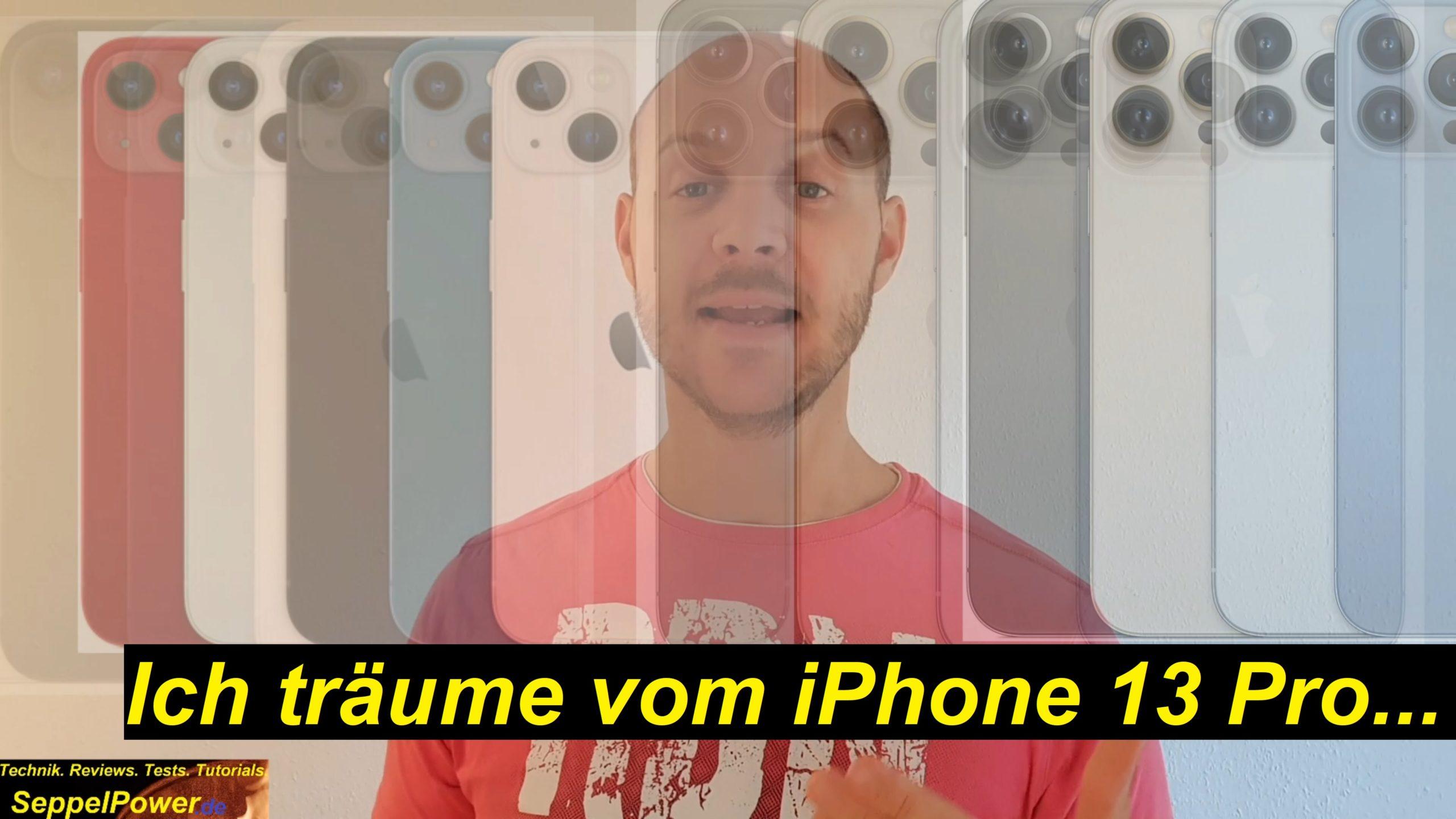 iPhone 13 Pro und ich werde schwach! 4 neue Modelle!