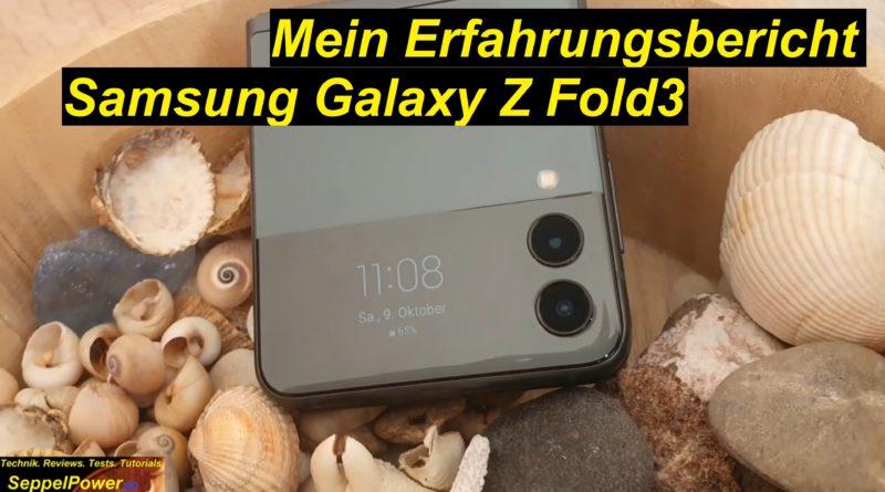 4 Wochen lang Samsung Galaxy Z Flip 3 - meine Erfahrungen