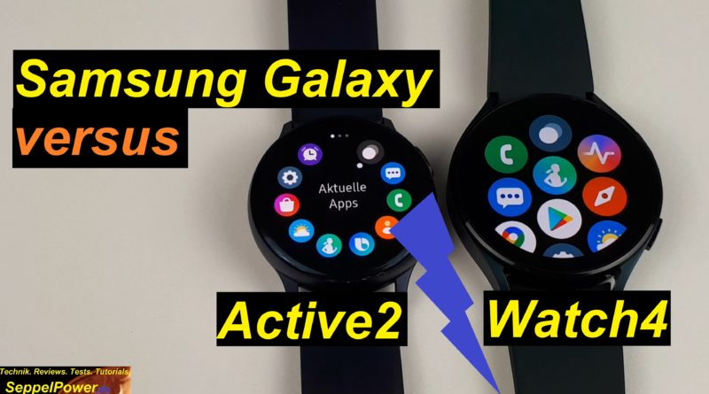 Samsung Galaxy Watch 4 vs. Active 2. Lohnt ein Upgrade?